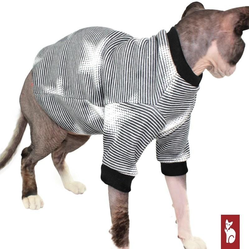 Vêtement pour chat - Sweat Etoile