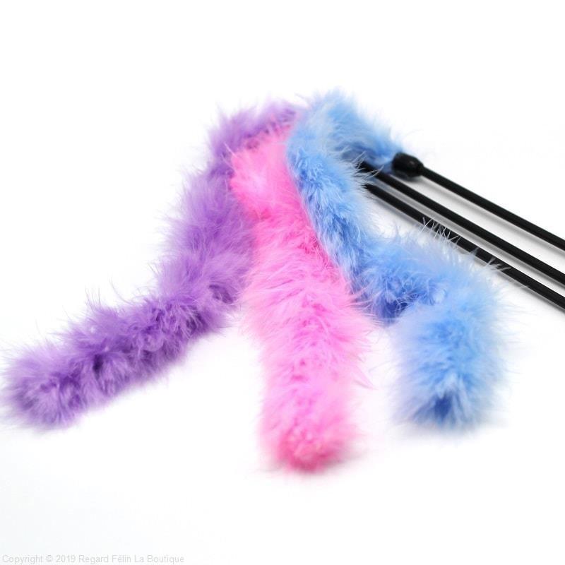 Plumeau Douceur - Plumeau jouet pour chat