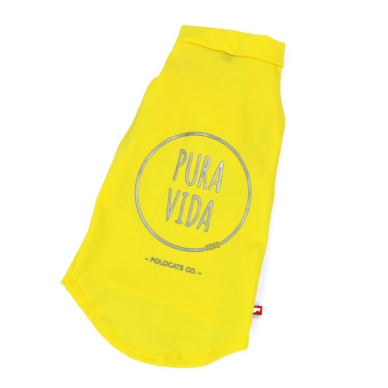 Protection UV vêtements chat - T-shirt Pura Vida