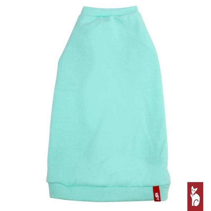 Vêtement pour chat - T-shirt VNeck Turquoise