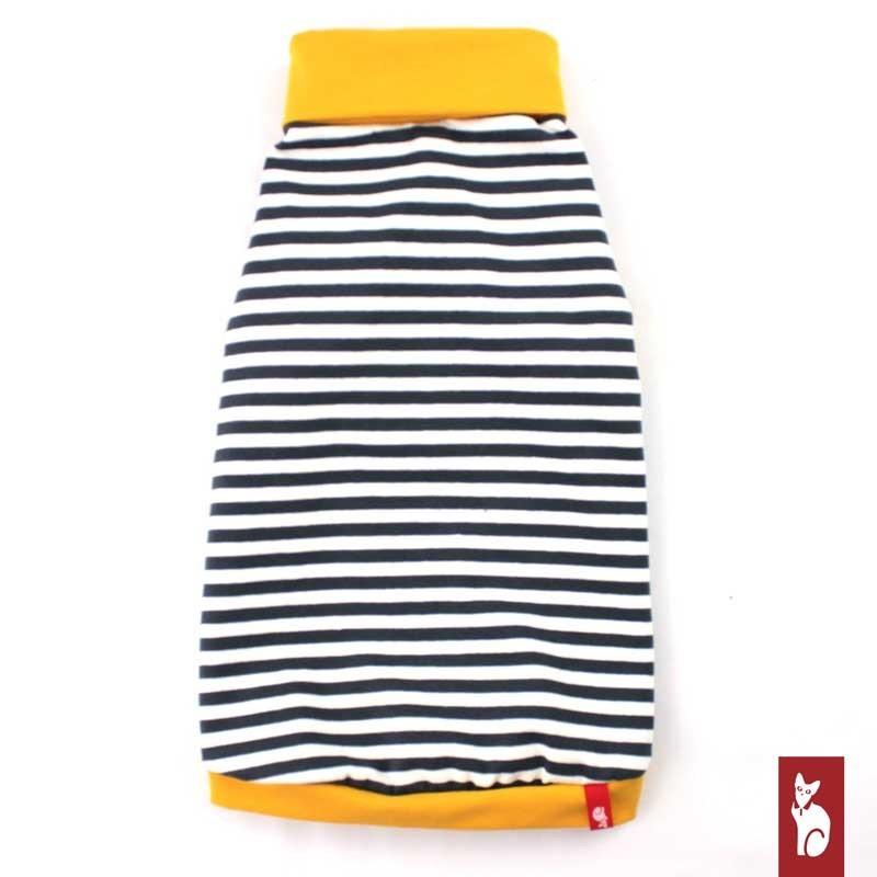 Vêtement pour chat - T-shirt Marin col roulé Gold