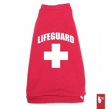 T-shirt pour chat Lifeguard