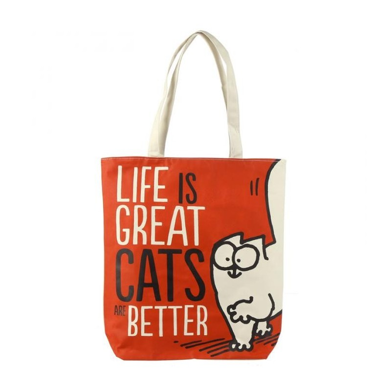 Sac Coton Simon's Cat