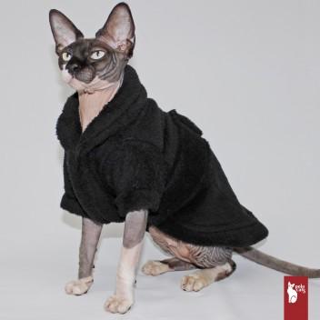 Kimono Polaire noir