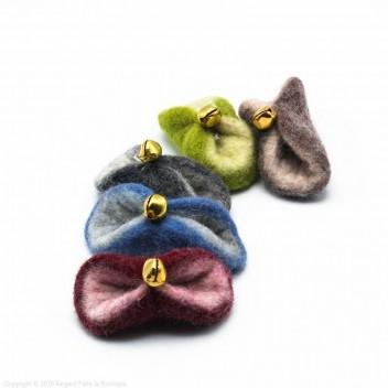 Papillote Jingle- Jouet chat laine