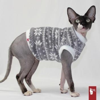 Pull Polaire Hiver - Vêtement chat