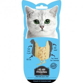 Friandises pour chat My Little Friandise - Poulet et Poisson fumé