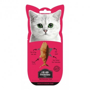My Little Friandise - Thon et Poisson fumé - Friandises pour chat