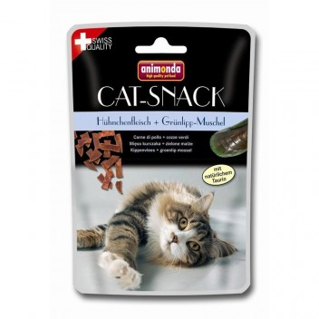 Animonda Cat-Snack - Poulet et Moules vertes - Friandises pour chat