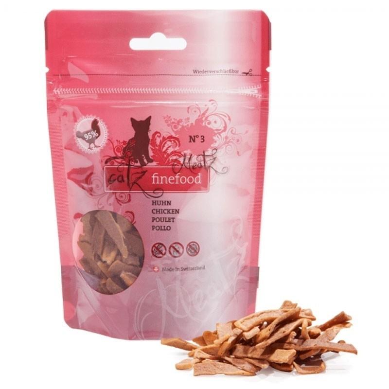 Friandises pour chat - Catz Finefood Meatz - Poulet