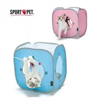 Lot de 2 Kitty Play Cube jouet chat