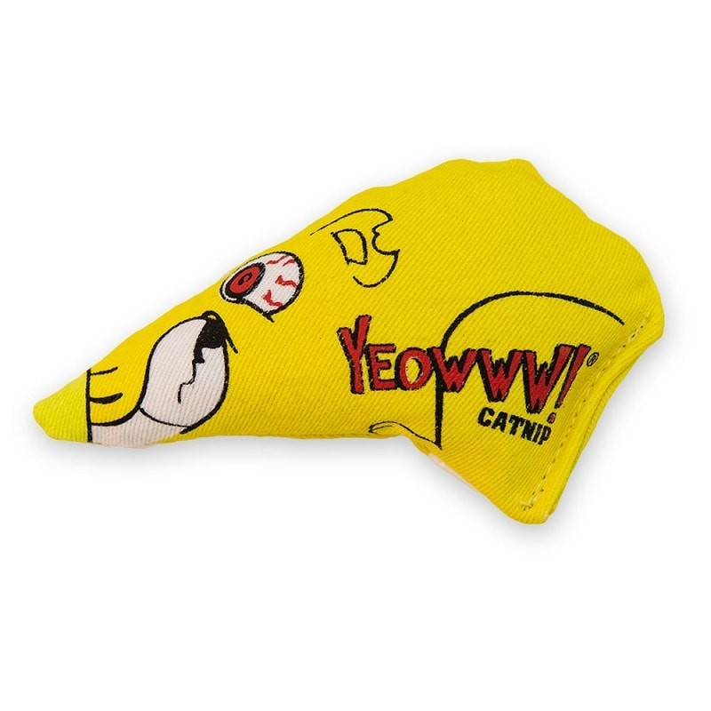 Yeowww! Chubby Mouse - Jouet pour chat cataire catnip herbe a chat