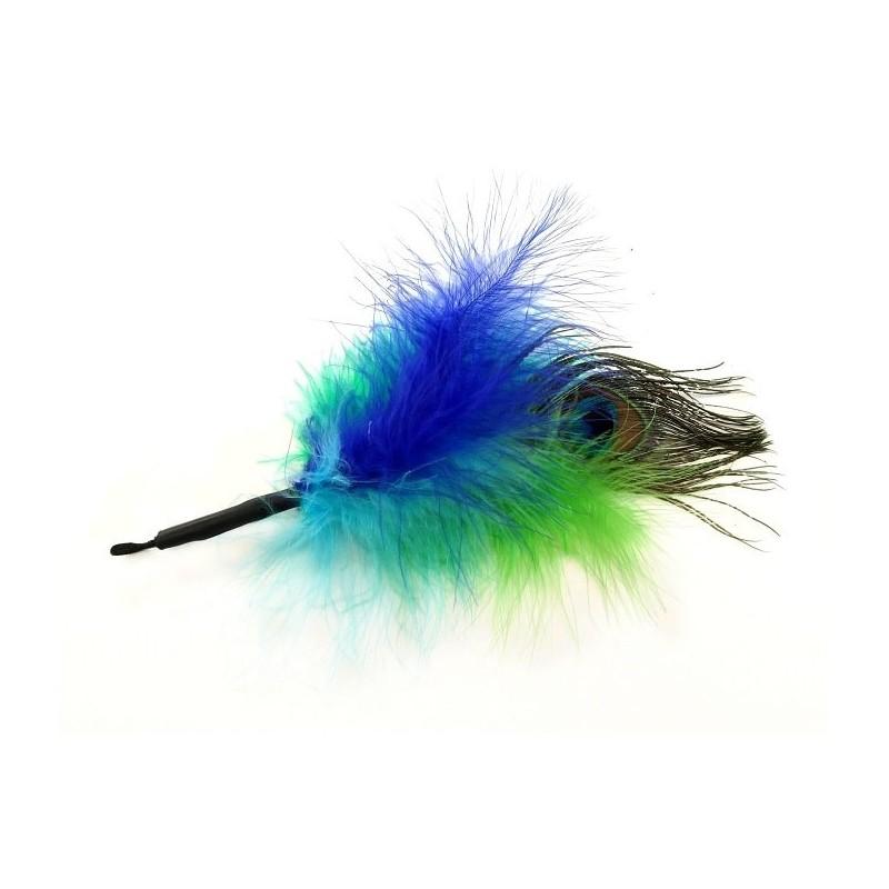 Jouet pour chat plumes - Attache PurrSuit Duvet