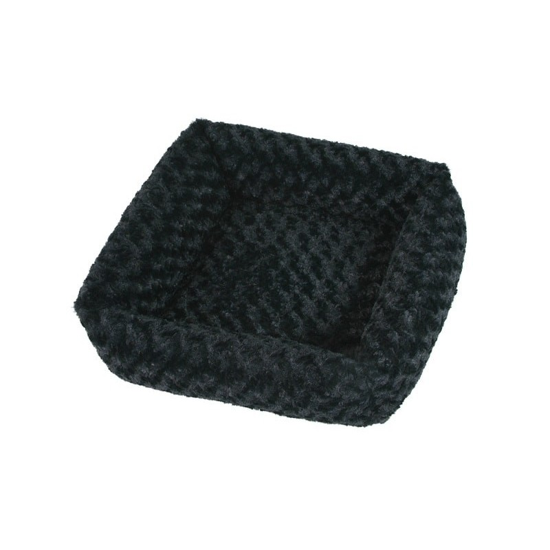 Panier chat Cube Fuzzy O'lala Pets - Black