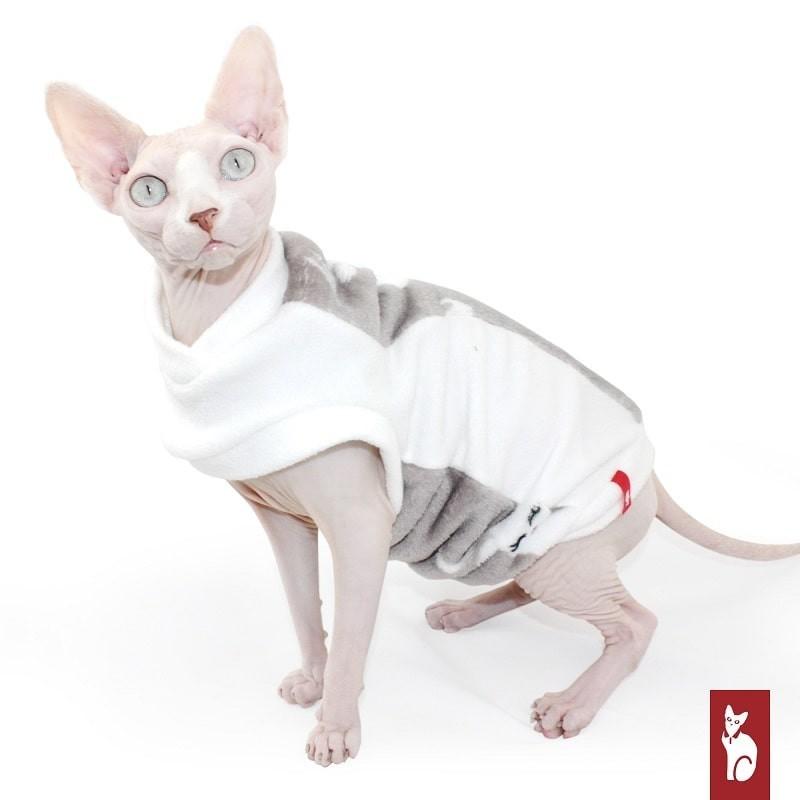 Vêtement pour chat - Pull Polaire Deer